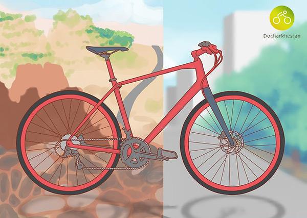 دوچرخه های هیبریدی