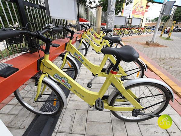 سیستم اشتراکی دوچرخه