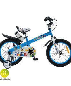 دوچرخه بچه گانه قناری مدل هانی رنگ آبی