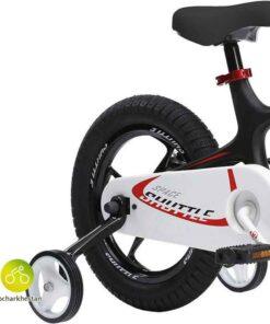دوچرخه بچه گانه قناری مدل شاتل فضایی رنگ مشکی