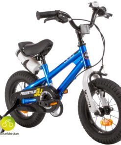 دوچرخه بچه گانه قناری مدل فری استایل رنگ آبی