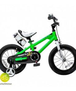 دوچرخه بچه گانه قناری مدل فری استایل رنگ سبز