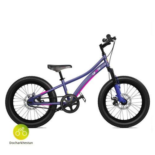 دوچرخه بچه گانه قناری مدل اکسپلورر رنگ بنفش