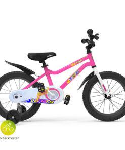 دوچرخه بچه گانه قناری مدل سامر رنگ صورتی