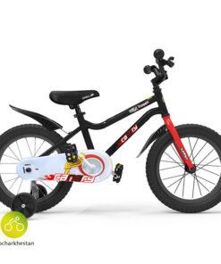 دوچرخه بچه گانه قناری مدل سامر رنگ مشکی