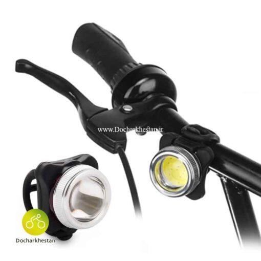 چراغ شارژی و قدرتمند جلو دوچرخه لومن