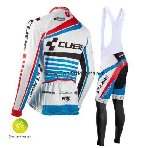لباس دوچرخه سواری زمستانه کیوب