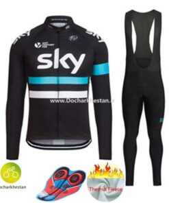 لباس دوچرخه سواری زمستانه اسکای