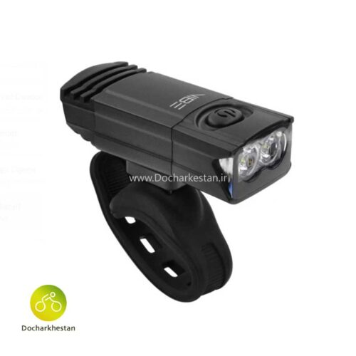 چراغ شارژی جلو دوچرخه وایب ۱۲۰ لومن مدل 0280