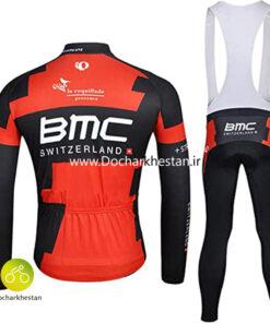 لباس دوچرخه سواری زمستانه بی.ام.سی