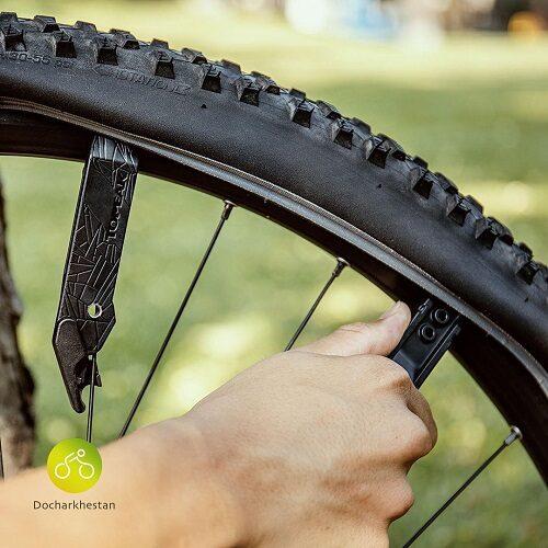 نحوه استفاده از آچار زنجير و تاير دوچرخه ليور برند TOPEAK