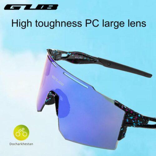 عینک دوچرخه سوارى برند GUB بنفش